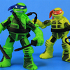 Shadow Ninja Color Change Leo & Mikey Teenage Mutant Ninja Turtles Figures Video Review & Images