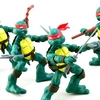 Teenage Mutant Ninja Turtles Comic Book Turtles Figure Video Review & Images
