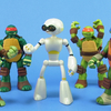 Fugitoid Nickelodeon Teenage Mutant Ninja Turtles Figure Video Review & Images