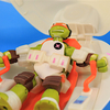 Fugitoid Ship Teenage Mutant Ninja Turtles Vehicle with Captain Mikey Video Review & Images