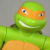 Nickelodeon Teenage Mutant Ninja Turtles 4 Foot Tall Michelangelo Figure Video Review & Images