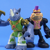 Teenage Mutant Ninja Turtles Half-Shell Heroes Bebop and Rocksteady Figures Video Review