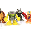 Mutagen Man Kirby Bat Rahzar & Cockroach Half Shell Heroes TMNT Figures Video Review & Images