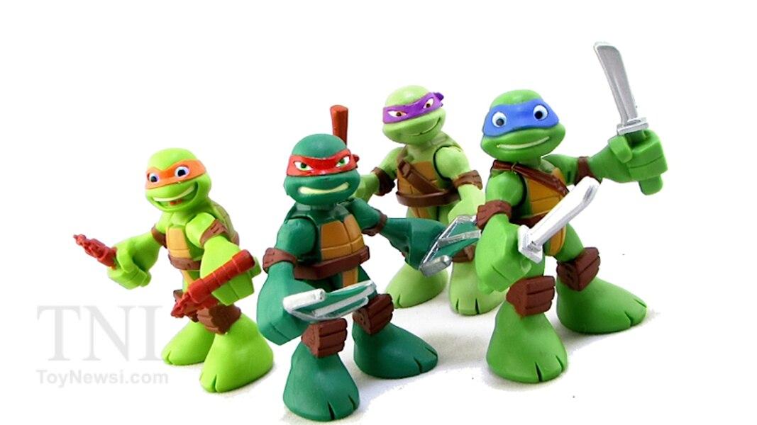 Mini Ninja Toys : Teenage mutant ninja turtles half shell heroes mini