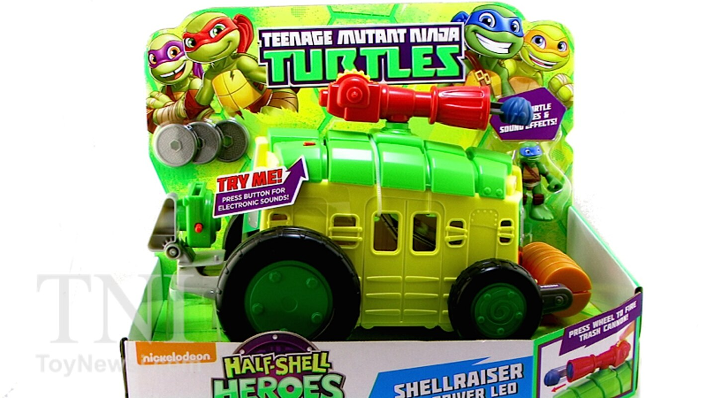 "Teenage Mutant Ninja Turtles Half-Shell Heroes Shellraiser Sound Vehicle 11/"" Toy"