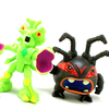 TMNT Half-Shell Heroes Snakweed & Spider Bytez Video Review & Images