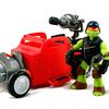 Nickelodeon Teenage Mutant Ninja Turtles Radical Road Racer Hot Rod Vehicle Video Review & Images