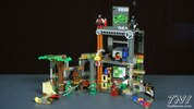 LEGO Teenage Mutant Ninja Turtles Set #79103 Turtle Lair Attack Video Review & Images