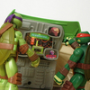 Teenage Mutant Ninja Turtles Giant Leonardo Playset Video Review & Images