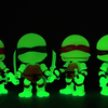 Glow in the Dark Loyal Subjects Teenage Mutant Ninja Turtles Exclusive Action Vinyls Video Review & Images
