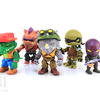 Loyal Subjects Teenage Mutant Ninja Turtles Wave 2 Action Vinyls Mini Figures Video Review & Images