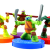 Teenage Mutant Ninja Turtles 2015 McDonald's Happy Meal Spinning Ninjas Premiums Full Set Review
