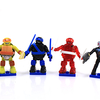 Teenage Mutant Ninja Turtles Mega Bloks Series 3 Blind Bag Mini Figures Video Review & Images