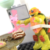 Teenage Mutant Ninja Turtles Mega Construx Mikey's Kitchen Chaos Set Video Review & Images