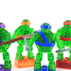 Teenage Mutant Ninja Turtles Mega Bloks Translucent Blind Bag Mini Figures Video Review & Images