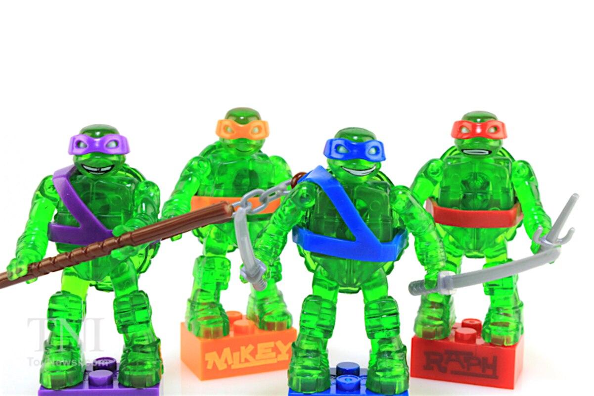 Teenage Mutant Ninja Turtles Mega Bloks Translucent Blind