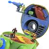 Teenage Mutant Ninja Turtles Micro Mutants Leo's Dojo Mini Playset Video Review & Imgaes