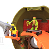 Teenage Mutant Ninja Turtles Micro Mutants Mikey's Skate Park Mini Playset Video Review & Images