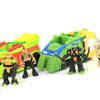 Teenage Mutant Ninja Turtles Micro Mutants Vehicles & Mini Figures Video Review & Images