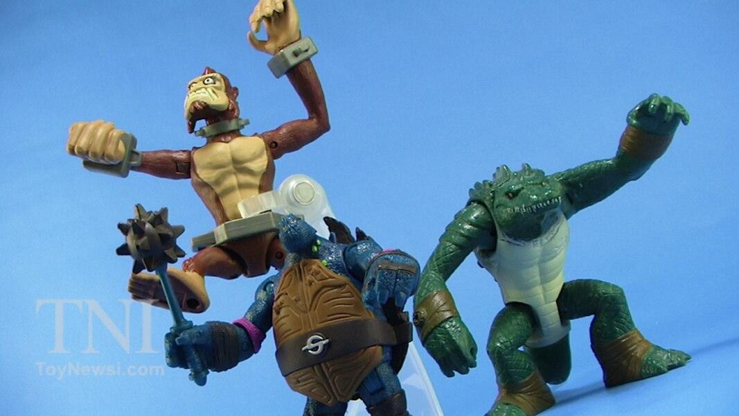 nickelodeon teenage mutant ninja turtles monkey brains figure video