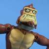 Nickelodeon Teenage Mutant Ninja Turtles Monkey Brains Figure Video Review & Images
