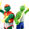 2014 TMNT Movie Evolution of Raphael and Leonardo Figure Sets Video Review Images