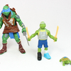 2014 TMNT Movie Leonardo Toy Evolution 3 Pack Video Review & Images