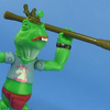 Nickelodeon Teenage Mutant Ninja Turtles Napoleon Bonafrog Figure Video Review & Images