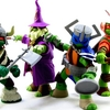 Nickelodeon Teenage Mutant Ninja Turtles LARP Live Action Role Play TMNT Figures Video Review & Images
