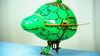 Nickelodeon Teenage Mutant Ninja Turtles High Flyin' Turtle Blimp Video Review & Images