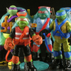 Nickelodeon Teenage Mutant Ninja Turtles Mutagen Ooze Turtles Figure Video Review & Images