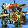 Teenage Mutant Ninja Turtles Pizza Thrower Vehicle 2015 Video Review & Images