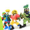 Teenage Mutant Ninja Turtles Classic Delta Don Touchdown Leo Skateboard Mikey Figures Review & Images