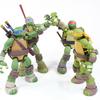 Revoltech Nickelodeon Teenage Mutant Ninja Turtles Figures Video Review & Images