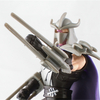 Nickelodeon Teenage Mutant Ninja Turtles Shredder w/Removable Helmet In-Hand Images