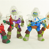 Teenage Mutant Ninja Turtles Dimension X Turtle Figures Video Review & Images