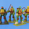 Sprukits Teenage Mutant Ninja Turtles Poseable Model Figures Video Review