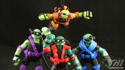 Nickelodeon Teenage Mutant Ninja Turtles Stealth Tech Figures Video Review & Images