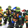 Super Ninjas Teenage Mutant Ninja Turtles Nickelodeon Figures Video Review & Images