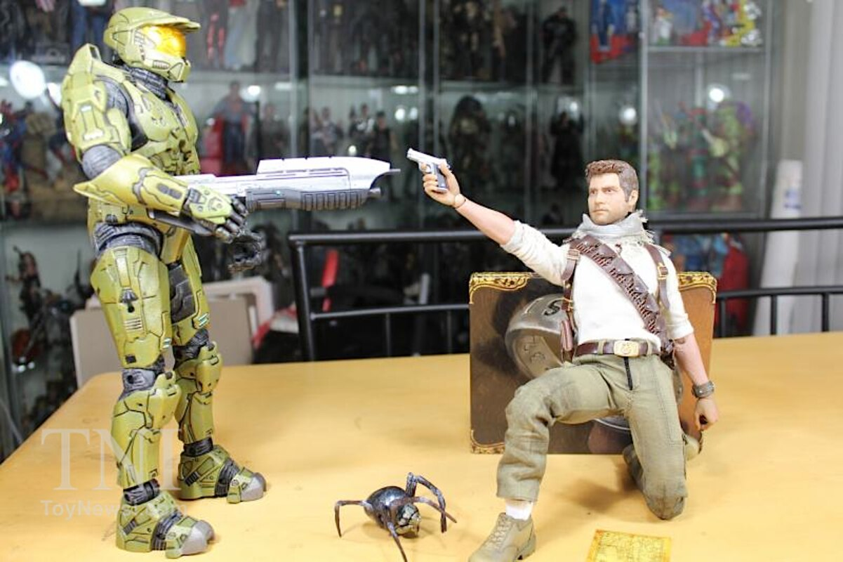 Uncharted 3 Nathan Drake 1 6 Scale Figure Video Review Images