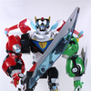 Voltron Legendary Defender Five Lions & Voltron Figure Video Review & Image Gallery