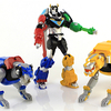 Voltron Legendary Defender 5-Inch Action Figures Playmates Toys Video Review & Images