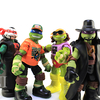 TMNT WWE Michelangelo as Macho Man Ninja Superstars Turtles Figure Video Review & Images
