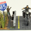 Daryl with Chopper The Walking Dead AMC TV Show McFarlane Toys Building Set Review & Images