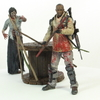 AMC's The Walking Dead Morgan with Impaled Walker Figure Video Review & Images