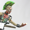 The Walking Dead Comic Series 3 Punk Rock Zombie Figure Video Review & Images