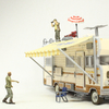 AMC The Walking Dead TV Series Dale's RV Building Set Video Review & Images