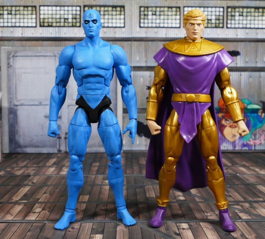 Watchmen Doomsday Clock 7 Dr Manhattan Ozymandias Figure 2
