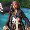 Revoltech Captain Jack Sparrow Figure Revealed