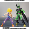 New S.H. Figuarts DBZ Battle Damaged Gohan & Cell Premium Color Version Figure Images